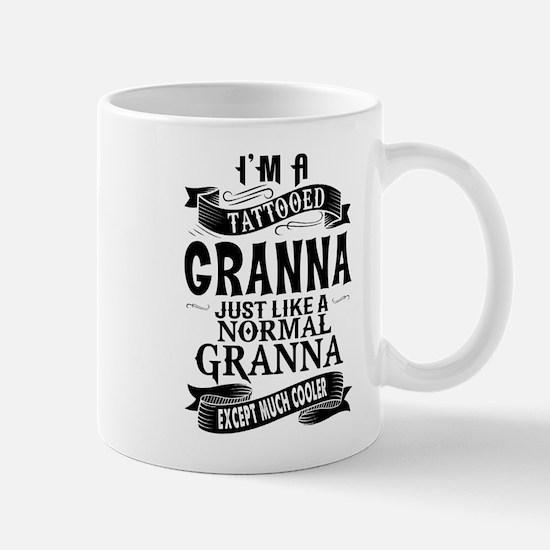 TATTOOED GRANNA Mugs