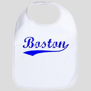 Vintage Boston (Blue) Bib