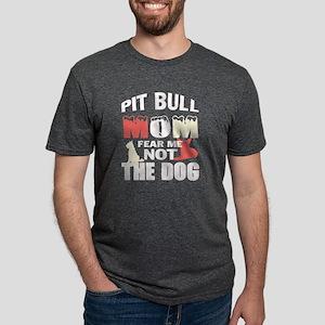 Pit Bull Mom T Shirt T-Shirt