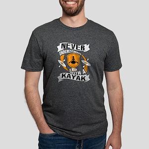A Man With A Kayak T Shirt T-Shirt