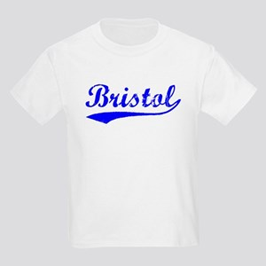 Vintage Bristol (Blue) Kids Light T-Shirt