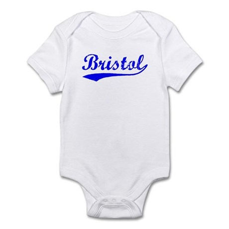 Vintage Bristol (Blue) Infant Bodysuit