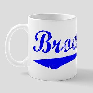Vintage Brockton (Blue) Mug