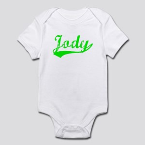 Vintage Jody (Green) Infant Bodysuit