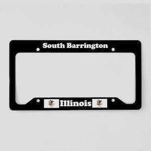 South Barrington, IL License Plate Holder