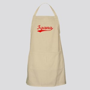 Vintage Iyana (Red) BBQ Apron