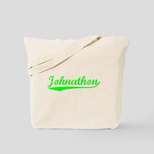 Vintage Johnathon (Green) Tote Bag