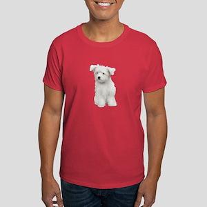 Maltese Picture - Dark T-Shirt