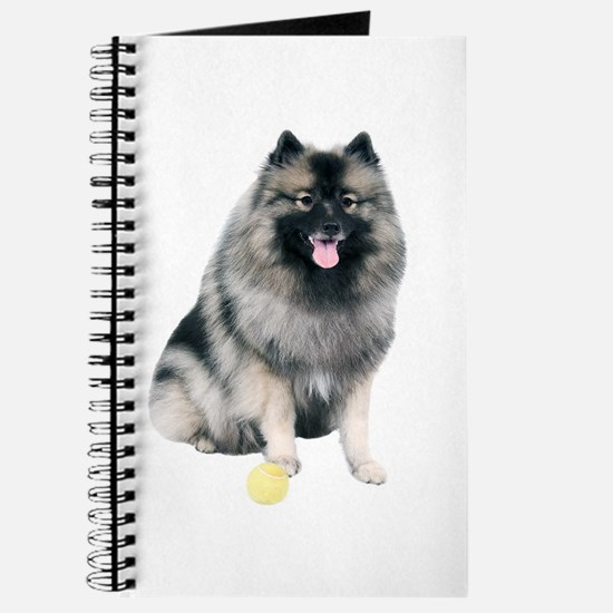 Cute Keeshond Journal