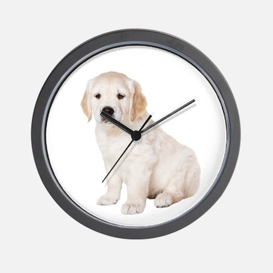Golden Retriever Picture - Wall Clock