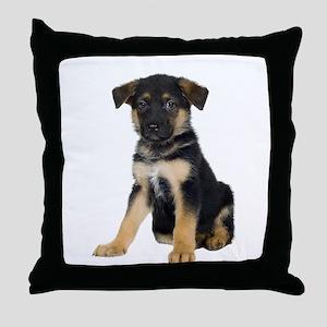 German Shepherd Picture - Throw Pillow