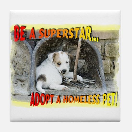 Be a Superstar... Tile Coaster