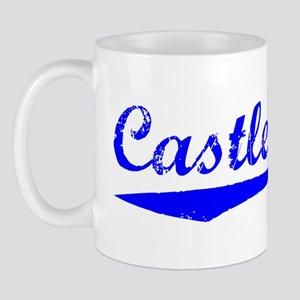 Vintage Castle Rock (Blue) Mug