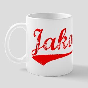 Vintage Jakob (Red) Mug
