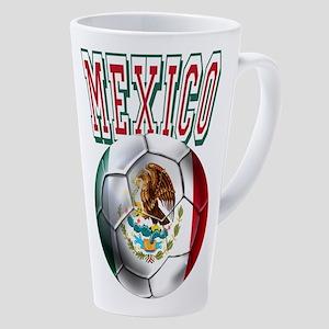 Futbol Mexicano 17 Oz Latte Mug