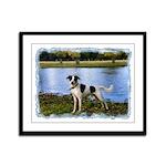 ...Dog 01... Framed Panel Print