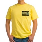 ...Dog 01... Yellow T-Shirt