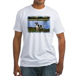 ...Dog 01... Fitted T-Shirt