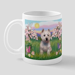 Blossoms & West Highland Mug