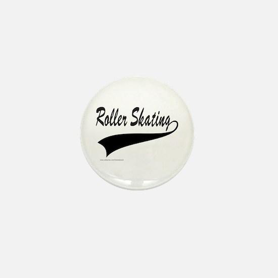 ROLLER SKATING Mini Button