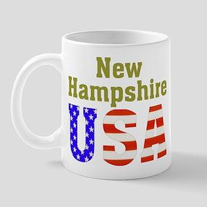 New Hampshire USA Mug