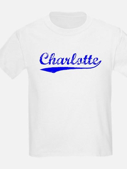 Vintage Charlotte (Blue) T-Shirt