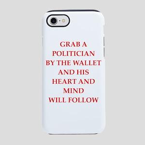 politician iPhone 8/7 Tough Case