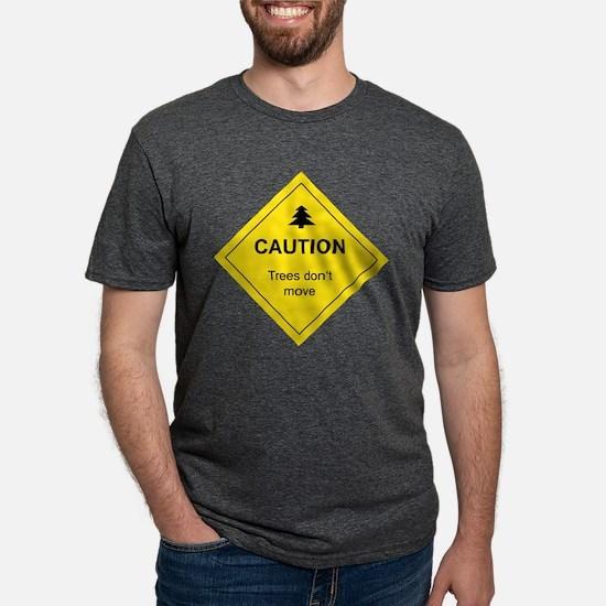 Caution Trees T-Shirt