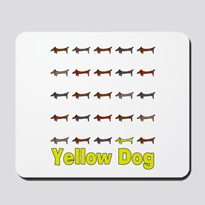 Yellow Dog Mousepad