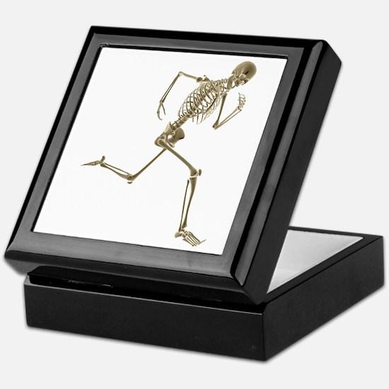 Skeleton Keepsake Box