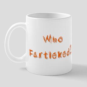 Who Fartleked? Mug