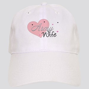 Army Wife Hearts Cap