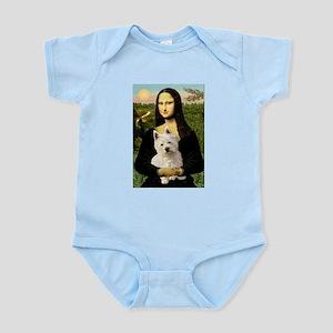 Mona Lisa & West Hightland Infant Bodysuit