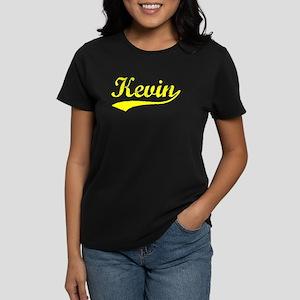 Vintage Kevin (Gold) Women's Dark T-Shirt