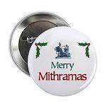 """Merry Mithramas - 2.25"""" Button"""