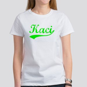 Vintage Kaci (Green) Women's T-Shirt