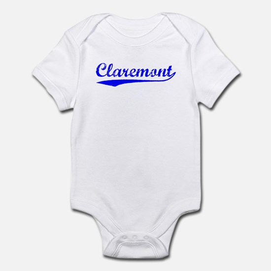 Vintage Claremont (Blue) Infant Bodysuit