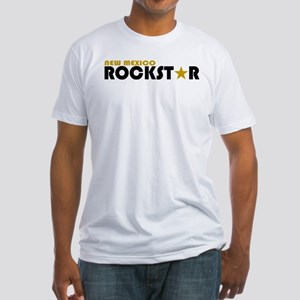 New Mexico Rockstar Fitted T-Shirt