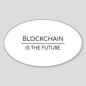 Blockchain is the future Sticker