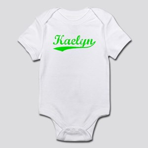 Vintage Kaelyn (Green) Infant Bodysuit