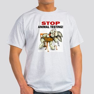 Stop Animal Testing! Light T-Shirt
