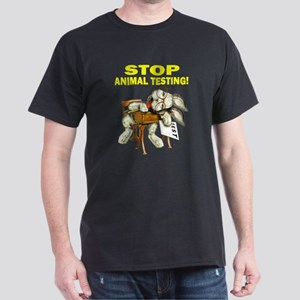 Stop Animal Testing! Dark T-Shirt