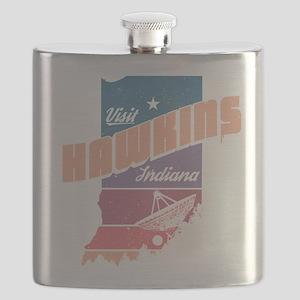 Visit Hawkins Indiana Flask