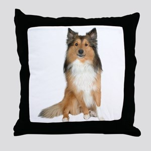 Collie Picture - Throw Pillow