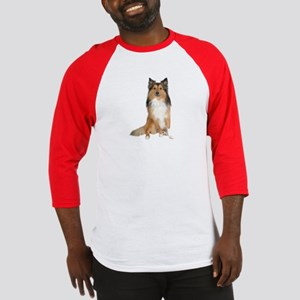 Collie Picture - Baseball Jersey