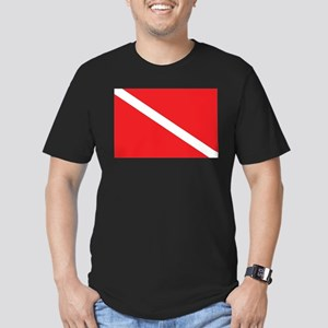 SCUBA DIVE FLAG Ash Grey T-Shirt