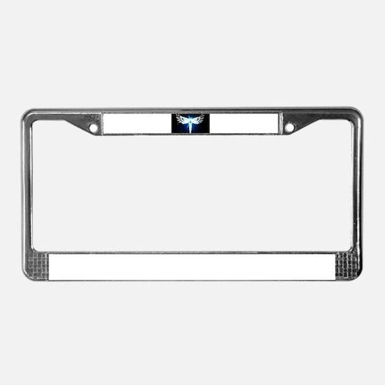 Light Worker License Plate Frame