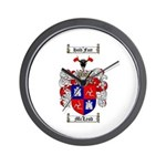 McLeod Family Crest Wall Clock
