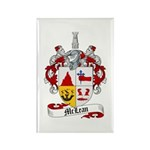 McLean Family Crest Rectangle Magnet (10 pack)