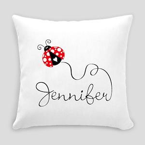 Ladybug Jennifer Everyday Pillow